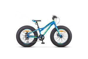Велосипед Stels Aggressor MD 20' ( FAT) V010 Синий (LU092512)