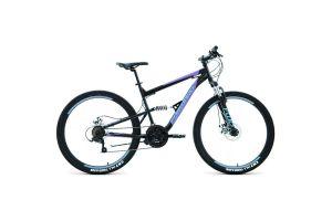Велосипед 27,5' Forward Raptor 27,5 2.0 disc Черный/Фиолетовый 19-20 г