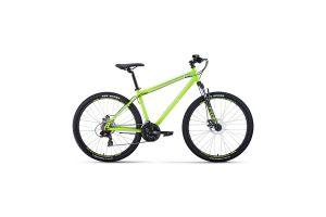 Велосипед 27,5' Forward Sporting 27,5 2.2 disc Ярко-зеленый/Серый 20-21 г