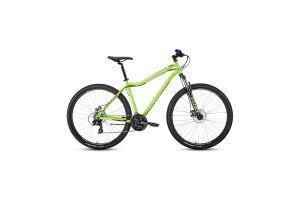 Велосипед 29' Forward Sporting 29 2.2 disc Ярко-зеленый/Черный 20-21 г