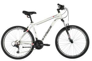 "Велосипед STINGER 26"" ELEMENT STD белый, алюминий, размер 16"", MICROSHIFT"