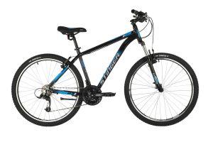 """Велосипед STINGER 27.5"""" ELEMENT STD черный, алюминий, размер 20"""", MICROSHIFT"""