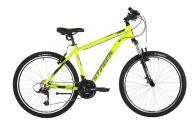 """Горный велосипед  STINGER 26"""" ELEMENT STD зеленый, алюминий, размер 18"""", MICROSHIFT"""