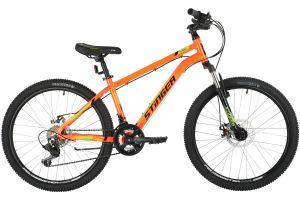"""Велосипед STINGER 24"""" ELEMENT EVO оранжевый, алюминий, размер 12"""""""
