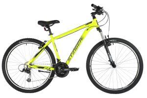 "Велосипед STINGER 27.5"" ELEMENT STD зеленый, алюминий, размер 18"", MICROSHIFT"