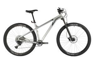 "Велосипед STINGER 29"" ZETA EVO серебристый, алюминий, размер 22"""