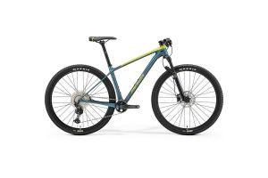 Велосипед Merida Big.Nine 3000 SilkLime/Teal-Blue 2021