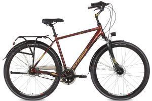 """Велосипед Stinger 28"""" Vancouver Evo 56; коричневый; SHIMANO NEXUS REVOSHIFT, 7 ск."""