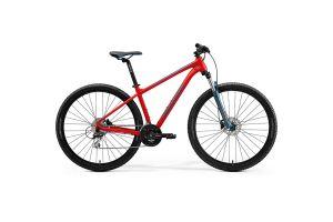 Велосипед Merida Big.Nine 20 MattRaceRed/Teal-Blue 2021